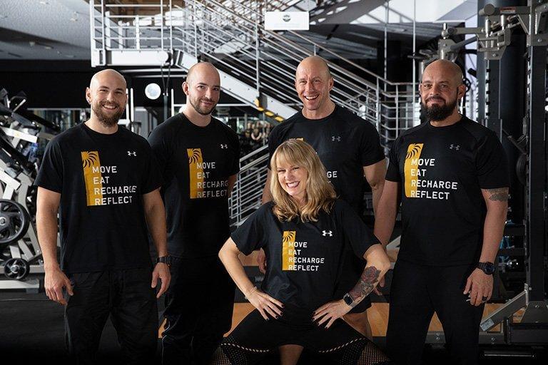 Gruppenfoto des Athlet des Lebens Personal Trainer Teams